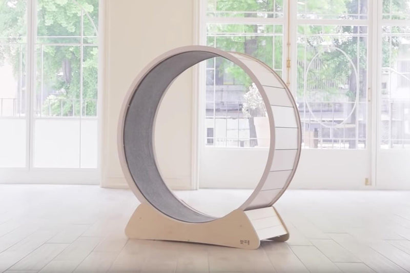 Hoiru Cat Wheel (push live on launch) Cat Tree - Tuft and Paw