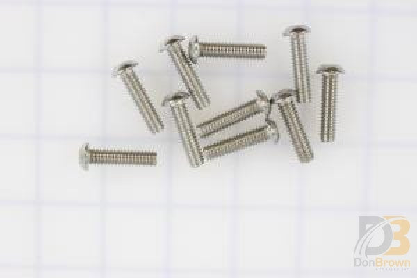 10 Pk / Screw 1/4 20 X 1 Bhcs Ss 81064-000-10Ks Wheelchair Parts