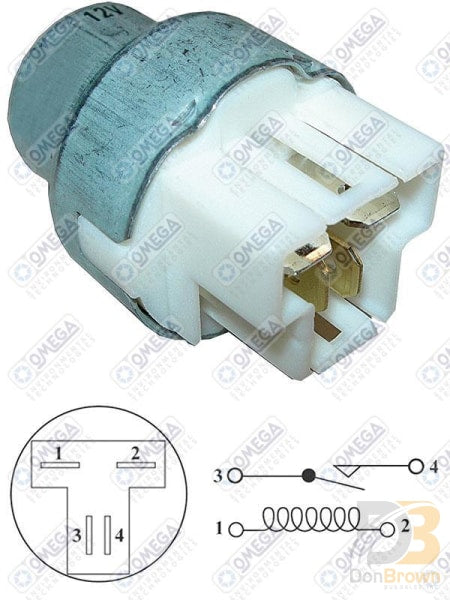 A/c Control Radiator Fan Relay Mt0220 Air Conditioning