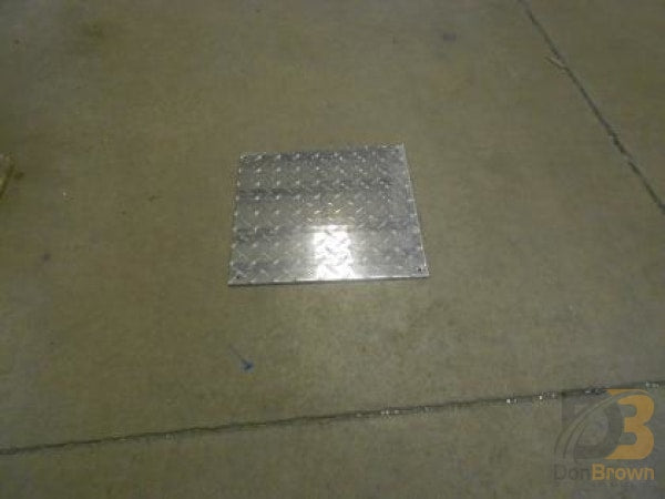 Aluminum Sheet Diamond Plate 12 X Fuel Access 19-021-007 Bus Parts