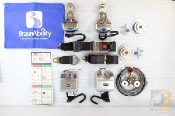 Belts Qtr Max Elec Retractor Short Ada Kit Shipout 501849Kks Wheelchair Parts