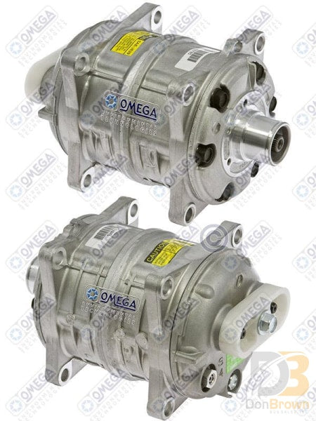 Compressor Tm-15 W/o Clutch And Fittings 20-55040 Air Conditioning