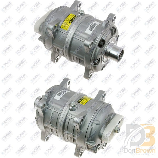 Compressor Tm-16 W/o Clutch And Fittings 20-55042 Air Conditioning