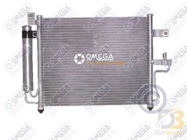 Condenser Accent 1.5L 00-02 1.6L 01-04 Man Trans 24-30218 Air Conditioning