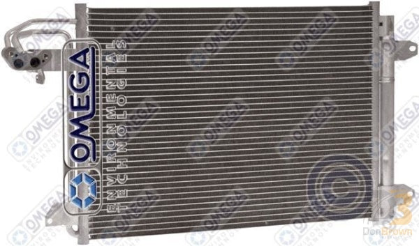 Condenser Audi A3 06-07 Vw Jetta 05-07 W/drier 24-31214 Air Conditioning