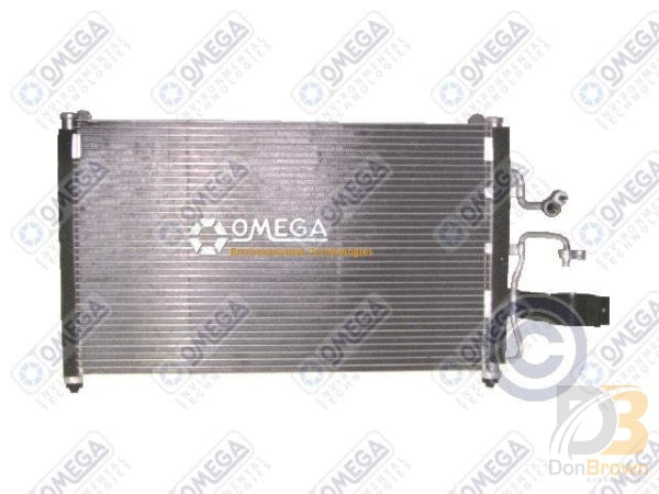 Condenser Daewoo Leganza 98-02 Nubria 2002 24-30210 Air Conditioning