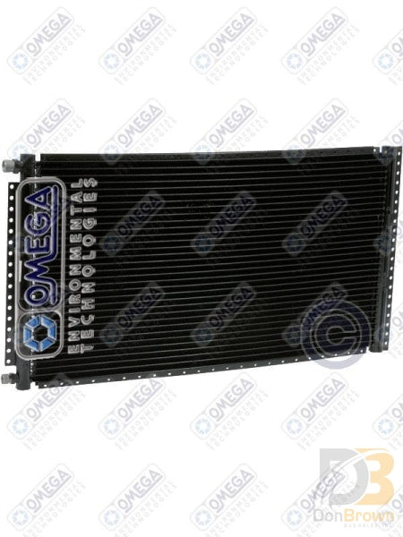 Condenser Pf 13.85In X 24In Four Rail Black #6/#8 Ftgs 24-50111 Air Conditioning