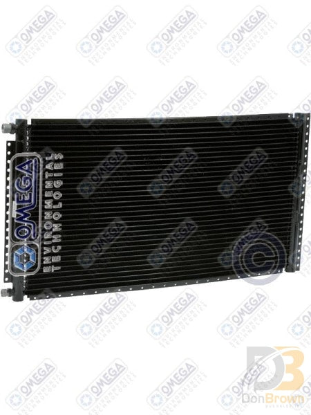Condenser Pf 13.85In X 25In Four Rail Black #6/#8 Ftgs 24-50110 Air Conditioning