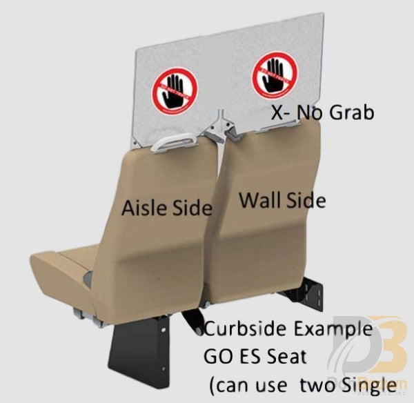 Freedman Seat Sneeze Guards Double Wide Kit D Bus Parts