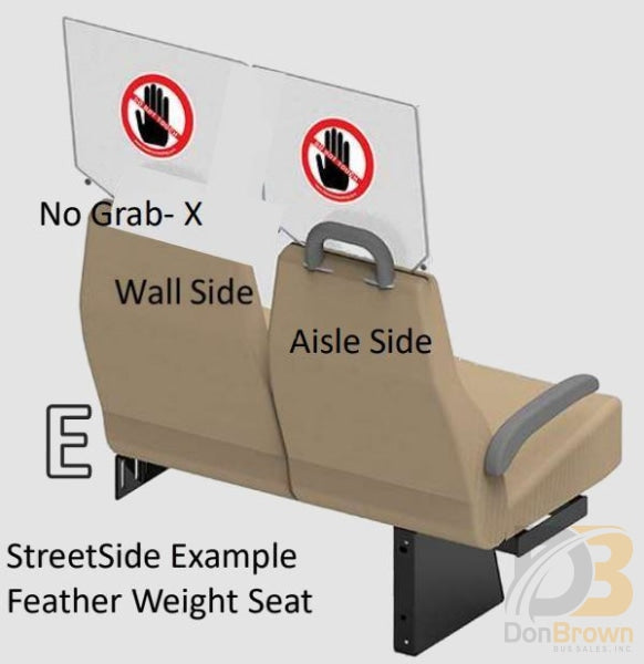 Freedman Seat Sneeze Guards Double Wide Kit E Bus Parts