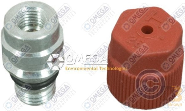 Gm Service Port Adapter 3/16 / 16Mm Alum 35-16365-A Air Conditioning
