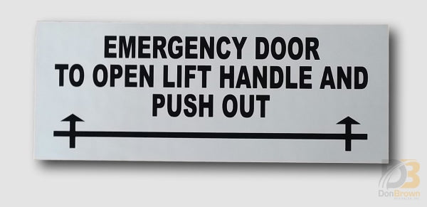 Ih-Lhpo Lift Handle Push Out Decal Bus Parts