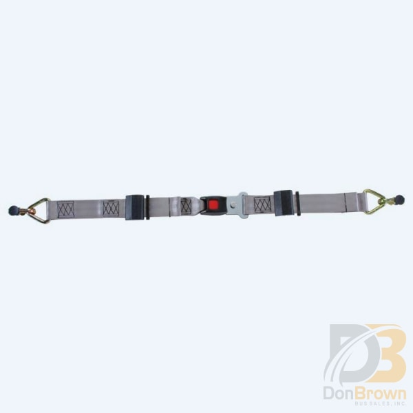 M-Series Standard Lap Belt For L Track Ml-320 Wheelchair Tiedowns