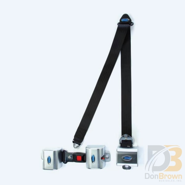 Retractable Shoulder And Lap Belt Assembly Q8-6326-A3 Wheelchair Tiedowns