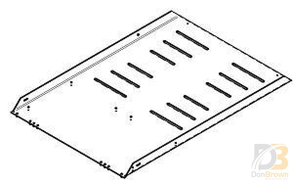 Slotted Entry Ramp Pem Assembly Vpm13277 Wheelchair Parts