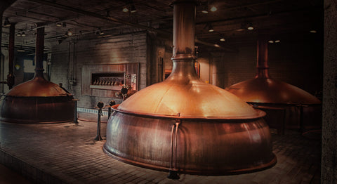 Anchor Brewing Company copper brewhouse