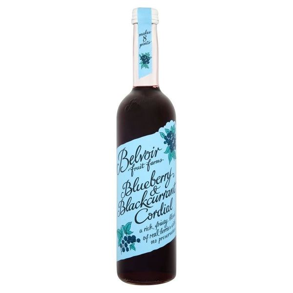 Belvoir Blueberry & Blackcurrant Cordial (500ml)