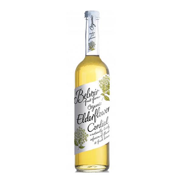 Belvoir Organic Elderflower Cordial (500ml)