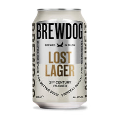 BrewDog Lost Lager Cans 33cl