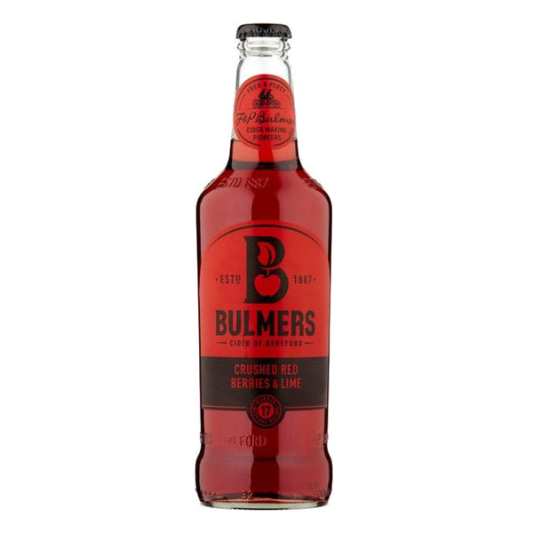 Bulmers Crushed Red Berries & Lime Cider 50cl