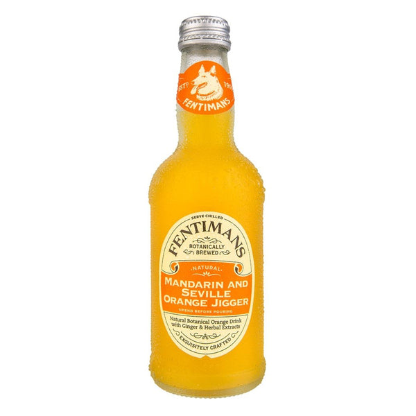 Fentimans Mandarin & Seville Orange Jigger 275ml Glass Bottle