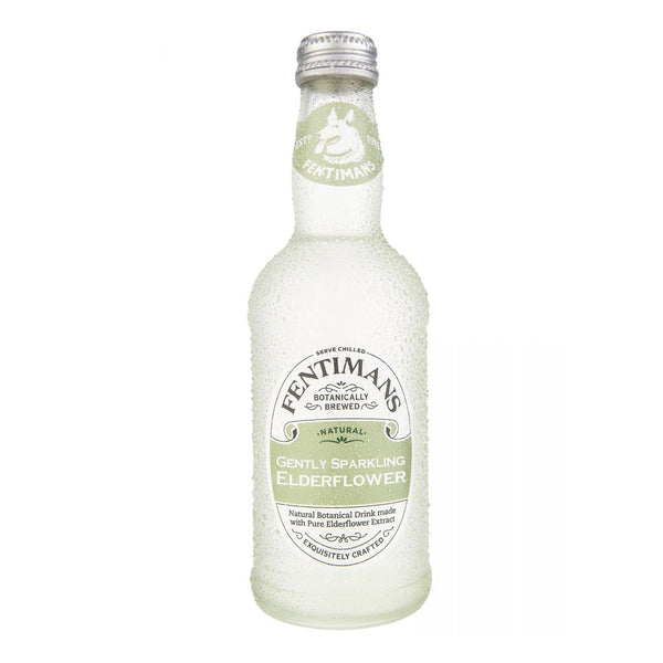 Fentimans Gently Sparkling Elderflower 275ml Glass Bottle