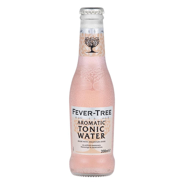 Fever Tree Aromatic Tonic Water 200ml Glass Bottle