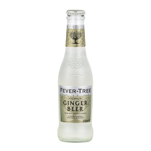 Fever Tree Ginger Beer 200ml Glass Bottle