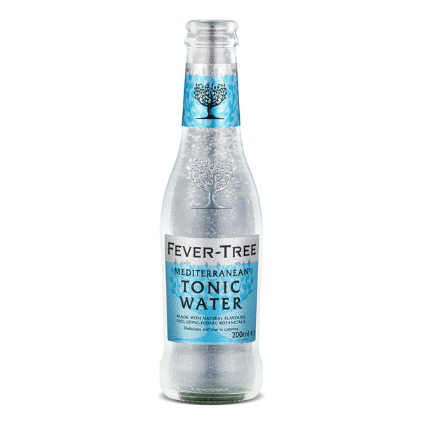 Fever Tree Mediterranean Tonic Water 200ml Glass Bottle