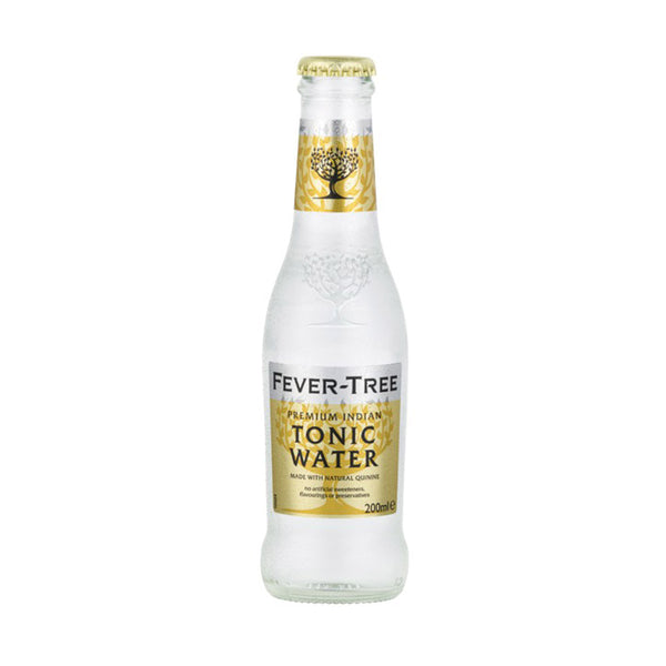Fever Tree Premium Indian Tonic Water 200ml Glass Bottle