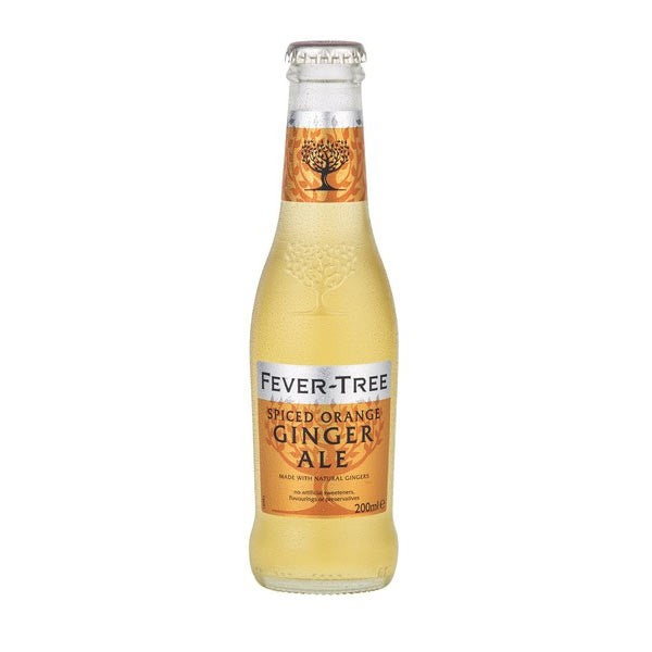 Fever Tree Spiced Orange Ginger Ale 200ml Glass Bottle