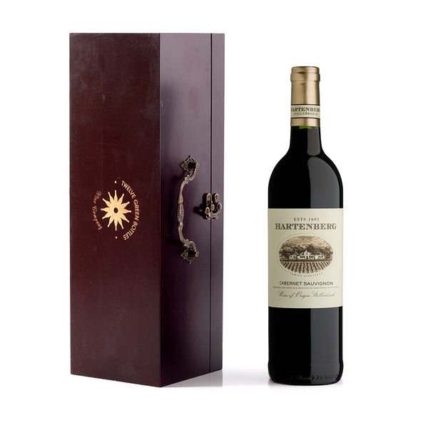 Hartenberg Cabernet Sauvignon in Wooden Gift Box with Accessories