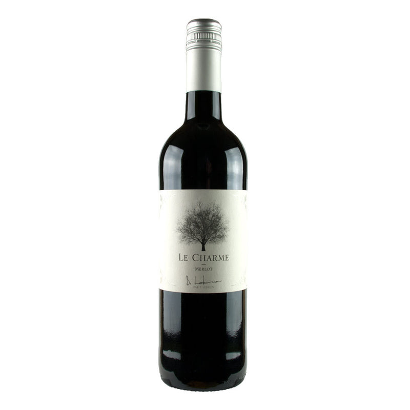 Soft and juicy medium bodied red wine from Merlot grapes. Le Charme Merlot