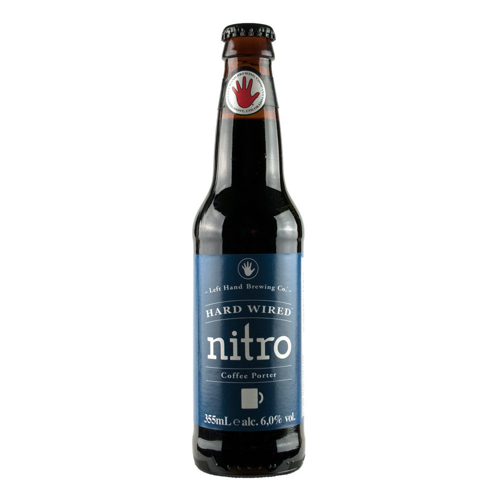 296f16362 Left Hand Nitro Hard Wired Coffee Porter – Twelve Green Bottles Wine