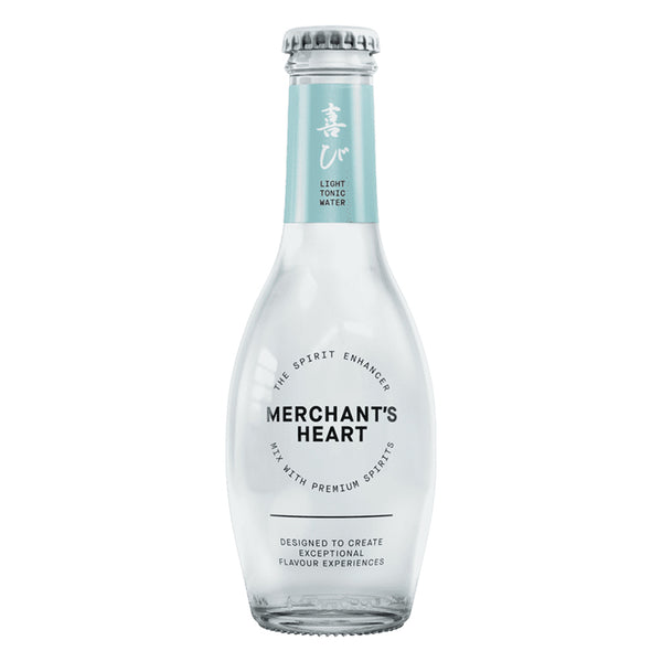 Merchant's Heart Light Tonic Water (200ml) Glass Bottle