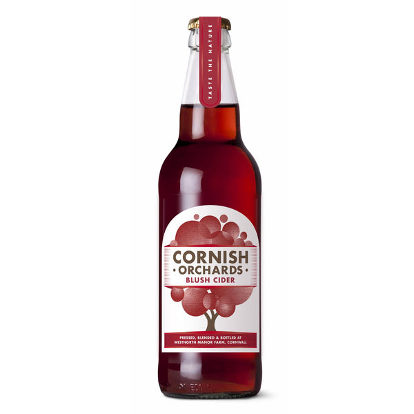 Cornish Orchards Blush Cider Glass Bottle 50cl