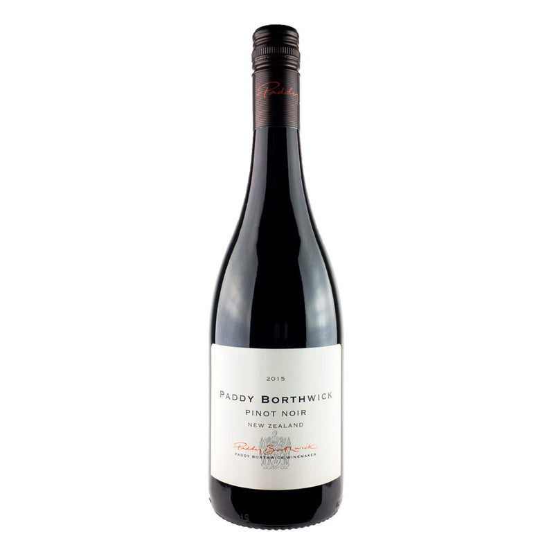 A perfumed, fruity, savoury red wine from New Zealand. Borthwick Pinot Noir.