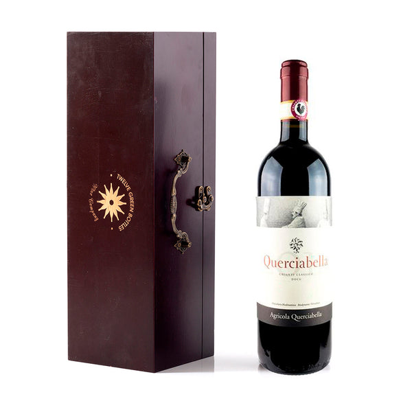 Querciabella Chianti Classico in Wooden Gift Box with Accessories