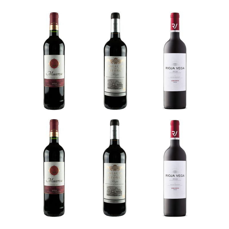 Rioja Crianza Wine Selection