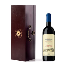 Tenuta San Guido Le Difese in Wooden Gift Box with Accessories
