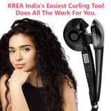 Krea Easy Curler With LCD Display And Intelligent Spooling Automation