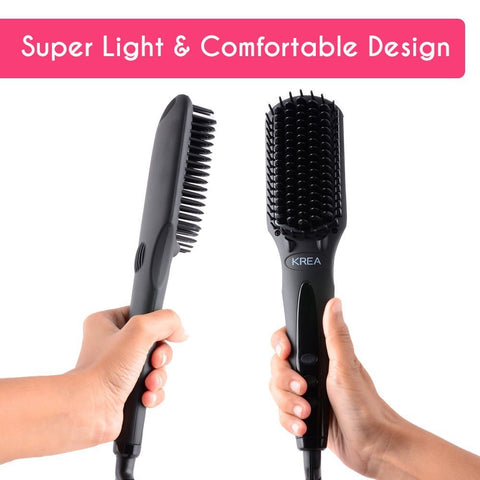 KREA Hair Straightener (3D MCH Tourmaline Technology) Straightens Hair In 4 Mins