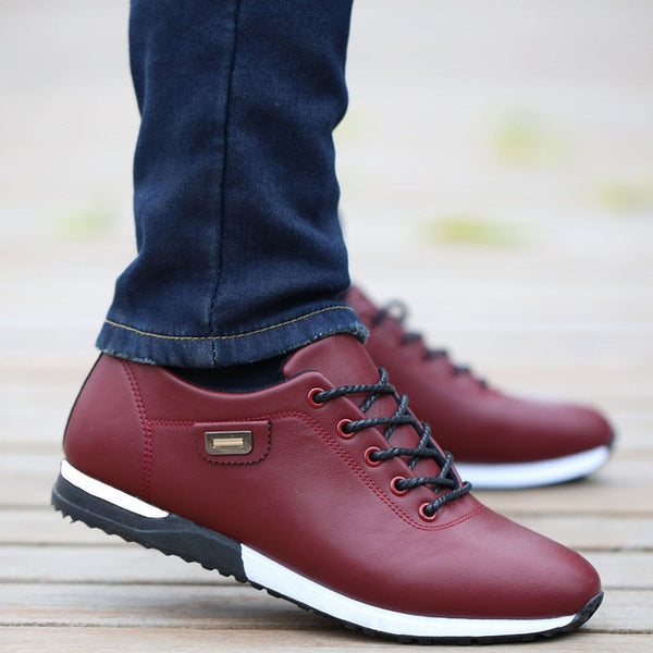 Men's PU Leather Business Casual Shoes