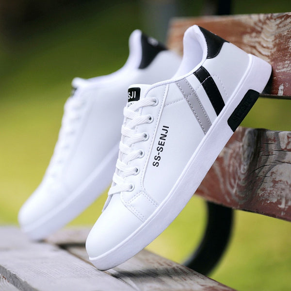 Men's Lace-up Casual Sneakers