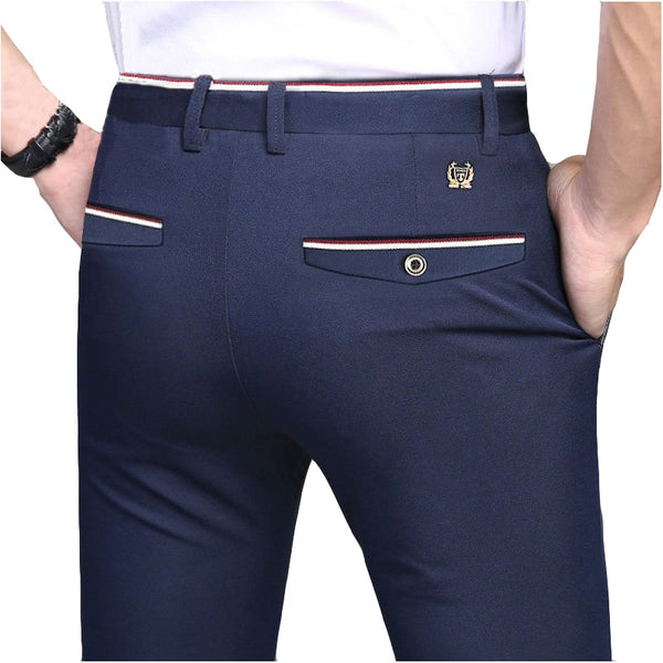 Men's Elegant Suit Pants