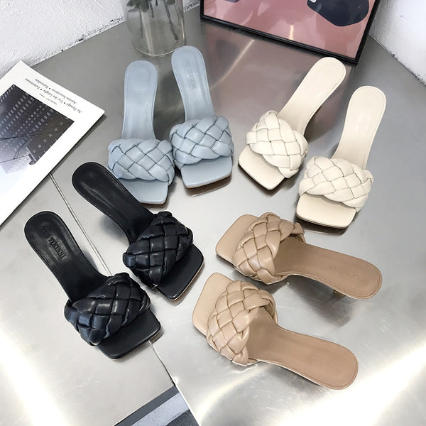 Women's Braided Style Slides