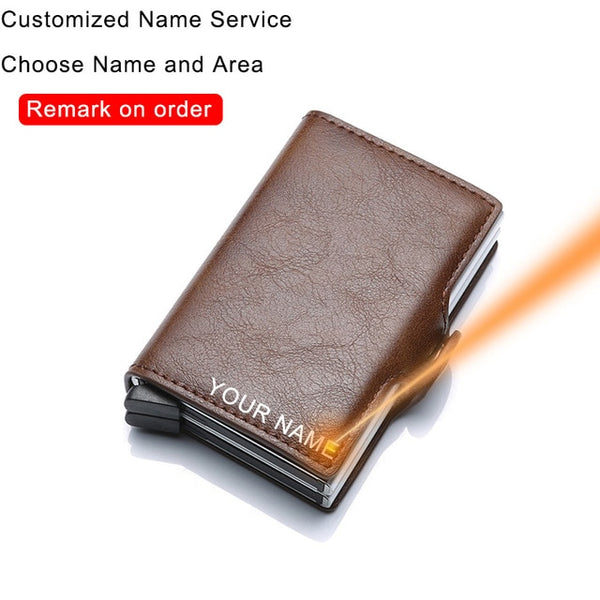Rfid Mini PU Leather Wallet