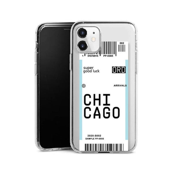 Baggage Tag Phone Case Cover for iPhone