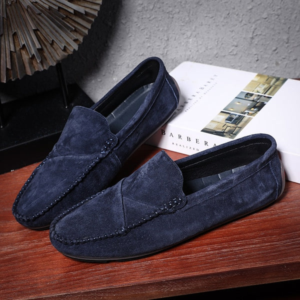 Suede Loafers/Driving Shoes