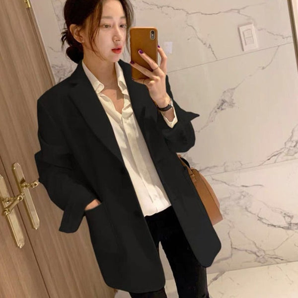 Single Breasted Overcoat Jacket